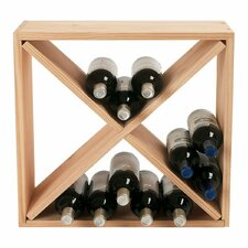 <strong>Wine Enthusiast</strong> 24 Bottle Wine Rack