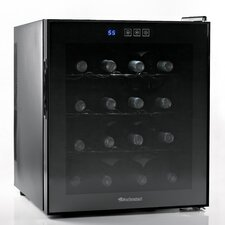 Silent 16 Bottle Touchscreen Wine Refrigerator