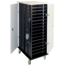 32-Compartment Netbook Cart
