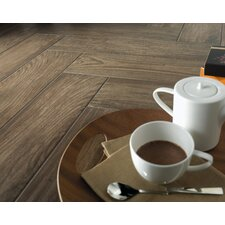 "Vivaldi 24.25"" x 3.25""  Glazed Bullnose Tile Tile Trim in Fall"