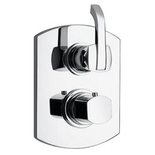 J11 Bath Series Thermostatic Valve Body with Diverter and Trim