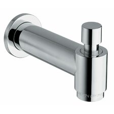 Jewel Shower Series Cast Brass Designer Tub Spout with Diverter