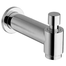 Jewel Shower Series Cast Brass Designer Slip Fit Tub Spout with Diverter