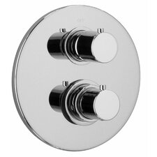 J16 Bath Series Thermostatic Valve Body with Diverter and Trim