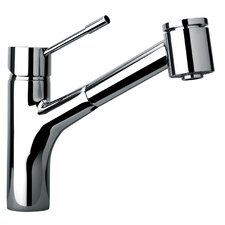 J25 Kitchen Series Single Hole Kitchen Faucet with Pull Out Spray Head