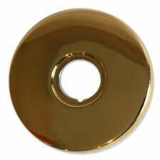 Jewel Shower Series Round Ceiling Mount Anti Lime Shower Head with Brass Shower Arm