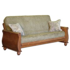 <strong>Big Tree Furniture</strong> Premium Hardwood Series Bordeaux Futon Frame and Mattress