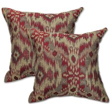 Sumatra Brick Pillow (Set of 2)