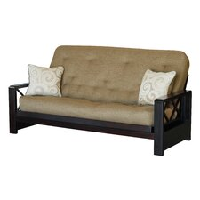 Portman Hardwood Futon with Super-Spring Mattress