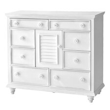 Outer Banks 8 Drawer Combo Dresser Chest