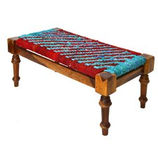 Braided Rope Bedroom Bench