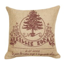 Holiday Jute 2 Pillow