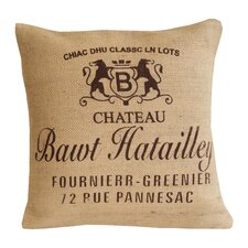 Chateau Jute Cotton Pillow