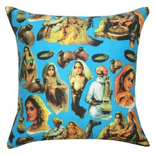 Bold Icon Cotton Pillow