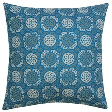 Batik Medallion Cotton Pillow