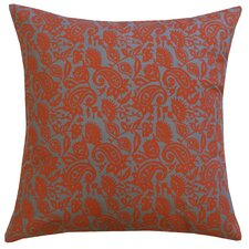 Petite Paisley Cotton Pillow