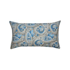 Bristol Paisley Cotton Lumbar Pillow