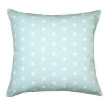 <strong>Divine Designs</strong> Ella Polka Dots Poly Cotton Pillow