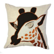 Giraffe Cotton Pillow