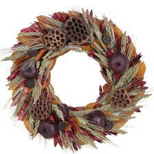 Autumn Pomegranate Harvest Wreath
