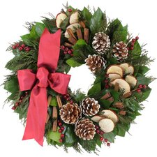 Holiday Holiday Apple Spice Wreath