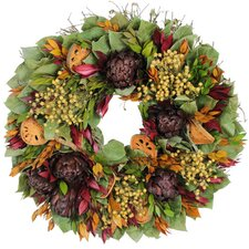 Autumn Farmers Harvest Wreath