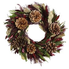 Holiday Spruce Wreath