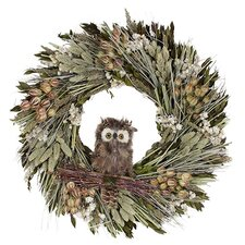 Autumn Hoot Hoot Wreath