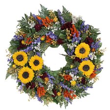 Spring / Everyday Tuscan Sunflower Wreath