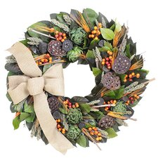 Autumn Rustic Vineyard Wreath