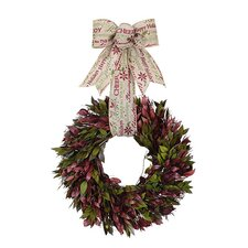 Holiday Holiday Message Wreath