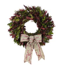 <strong>Urban Florals</strong> Holiday Holiday Message Wreath