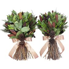 Autumn Copper Fall Wreath (Set of 2)
