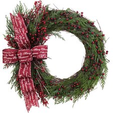 Holiday Seasonal Message Wreath