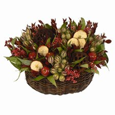Red Delicious Apple Basket