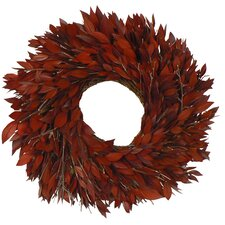 Red Myrtle Wreath