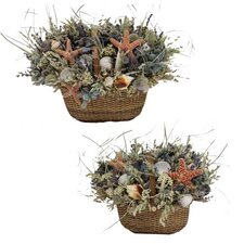 Martha's Vineyard Nantucket Basket Set (Set of 2)