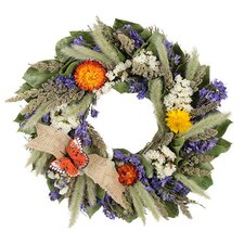 Butterfly Retrat Wreath