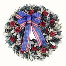 Land Of Free Wreath
