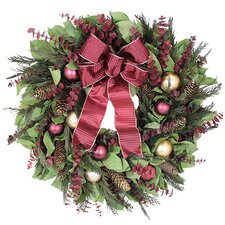 Regal Holiday Wreath