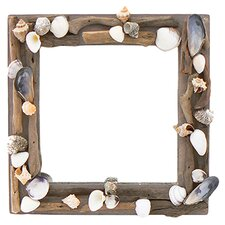 Driftwood Creation Mirror Wreath