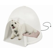 <strong>K&H Manufacturing</strong> Igloo Soft Heated Dog Dome