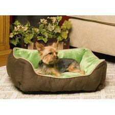 Self-Warming Heated Lounge Bolster Dog Bed