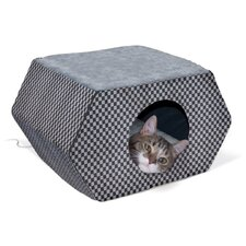 <strong>K&H Manufacturing</strong> Kitty Hideout in Gray and Black