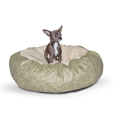 Self Warming Cuddle Ball Dog Pillow