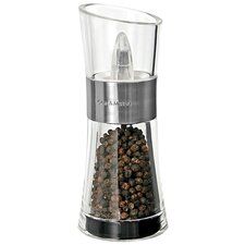Flip-Chrome Pepper Mill