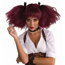 Steampunk Burgandy Wig