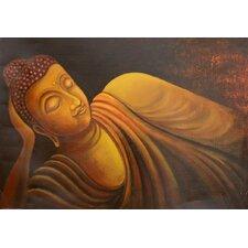 "Handgemaltes Gemälde ""Buddha"" - 70 x 100 cm"