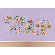 Peel and Play Fairy/Forest Wall Decal