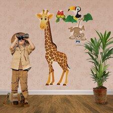 Really Big Giraffe Wall Decal Set